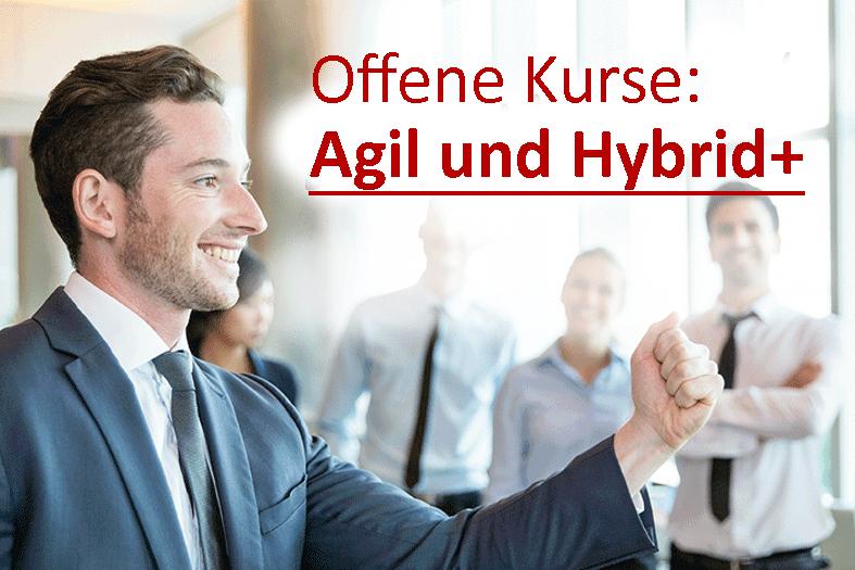 Agil und Hybrid+ Seminare aufgrund großer Nachfrage jetzt auch in Bochum, Dortmund, Münster, Köln, Düsseldorf, Berlin und Frankfurt!